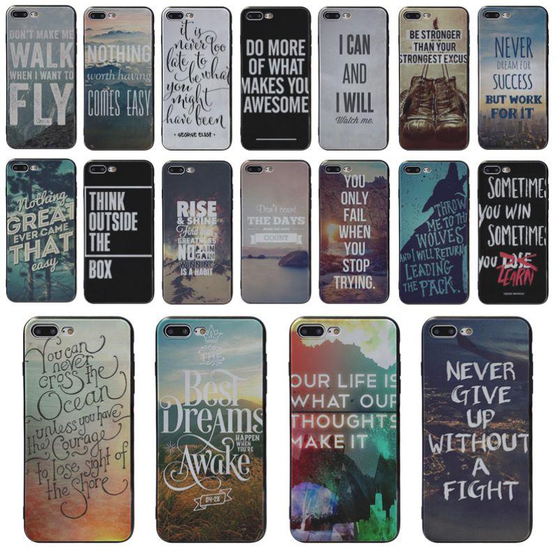 Pósteres motivadores Yinuoda Islam con citas, funda de silicona para iphone 5S X 8 8plus 6S 6p X XS XR XSMAX 6s Plus 7 7plus