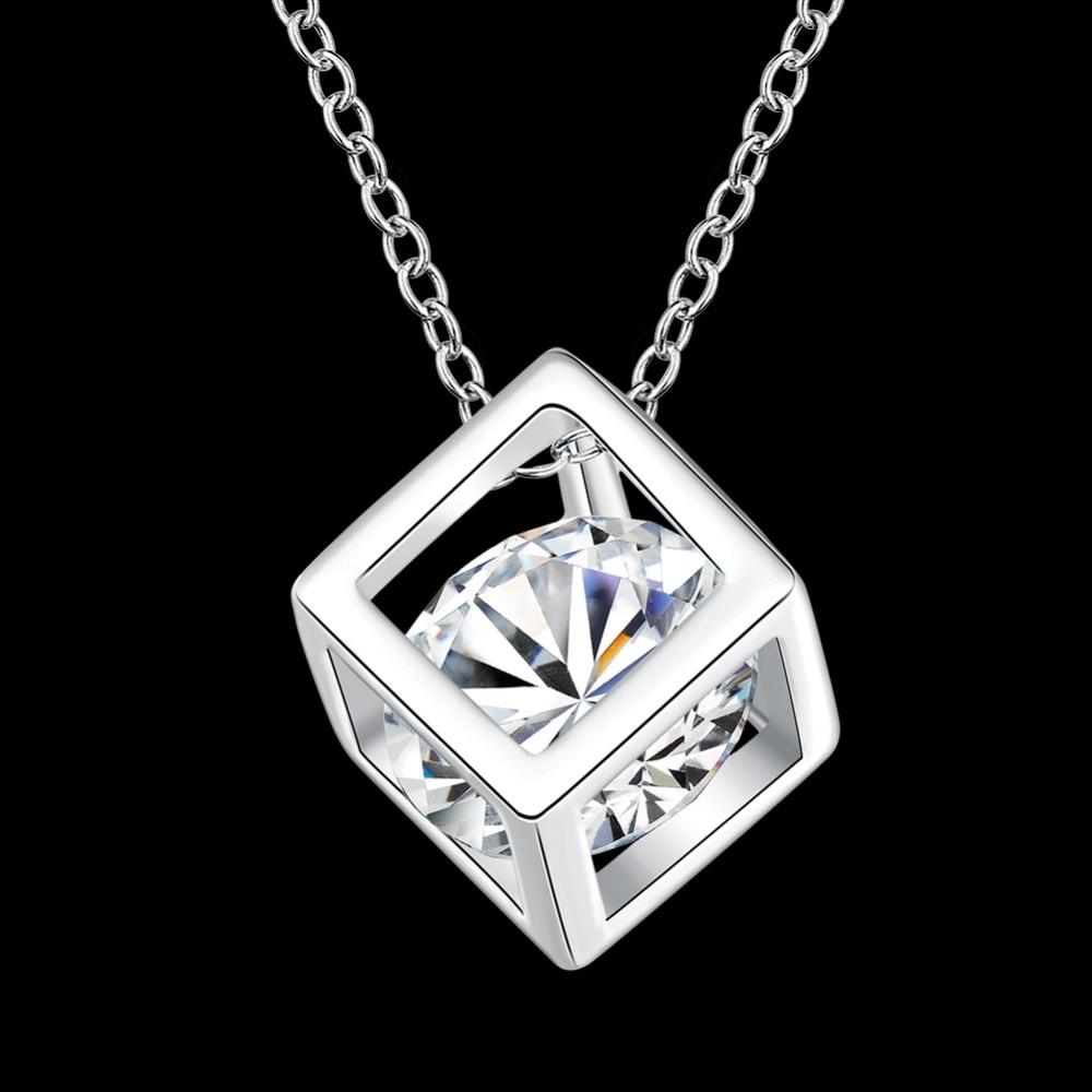 Женское-серебряное-ювелирное-изделие-красивое-блестящее-ожерелье-с-кулоном-из-фианита-для-свадьбы-и-помолвки-Лидер-продаж