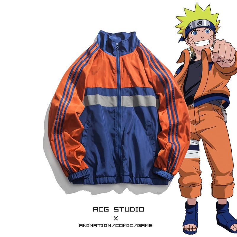 Nova naruto uchiha sasuke cosplay trajes ninja moda algodão com zíper hoodies diário casual camisola jaquetas esportivas casaco topo