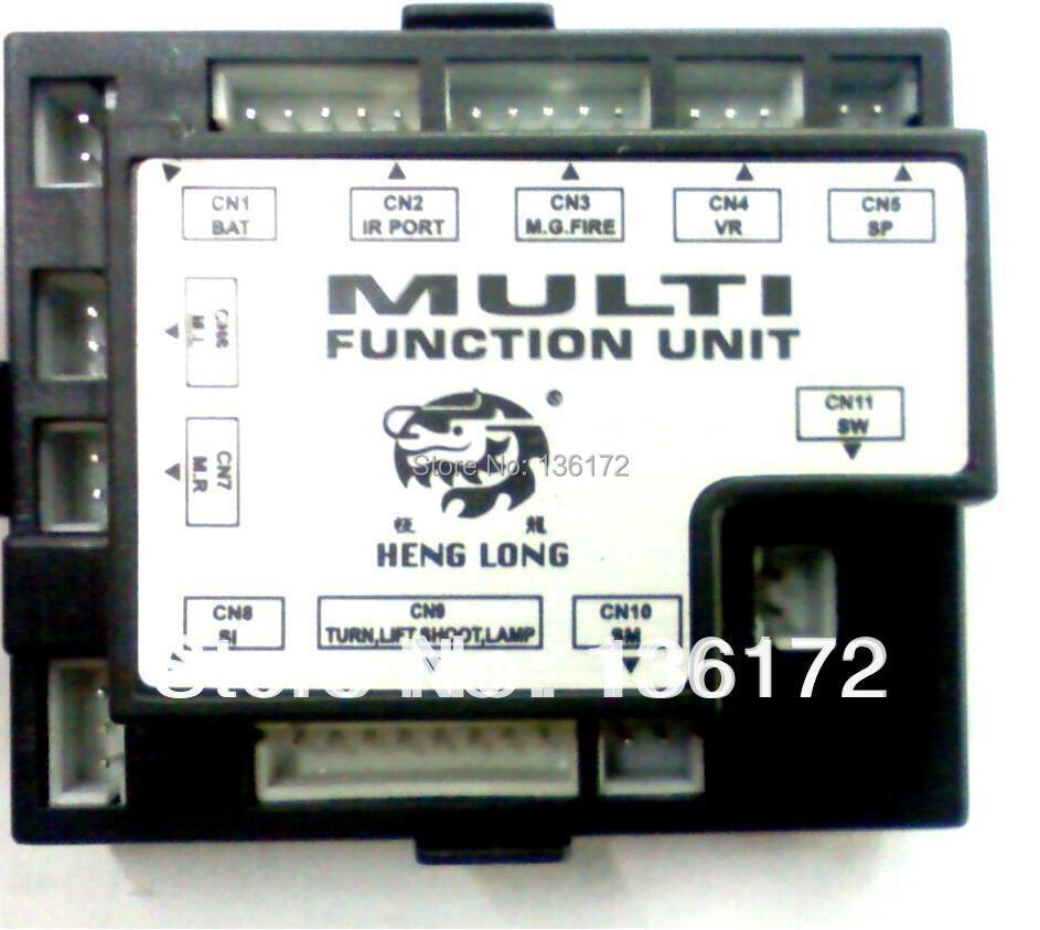 Henglong 3818-1 3819-1 3838-1 3839-1 3848-1 3849-1 116 1/16 rc peças de tanque de fumo RX-18 placa principal/TK-18 receptor