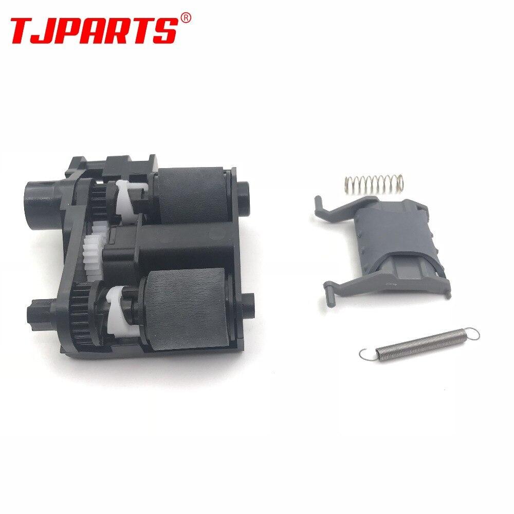 5SET X CE538-60137 ADF Pickup Roller Separation Pad for HP CM1415 M1536 P1566 P1606 CP1525 PRO 100 Color MFP M175 M176 M177 M276