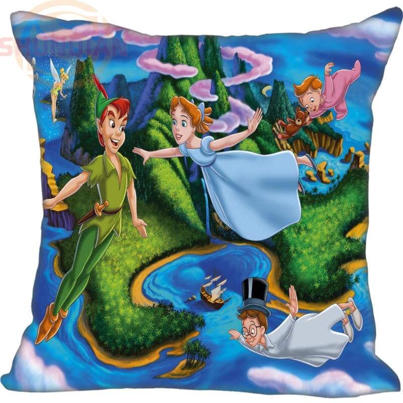LU Fashion boutique Custom  Peter Pan Square Pillowcases zipper 20x20cm 35x35cm 40x40cm