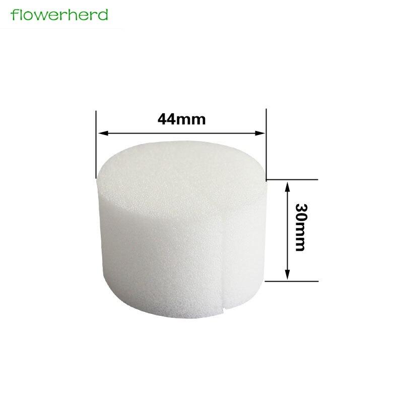 50 шт., стартер для рассады и поднятия растений, гидропонная Soilless губка для питомника растений 44 мм x 30 мм, гидропонная губка