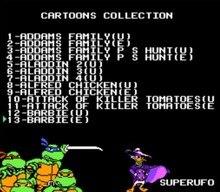 Дневная Коллекция мультфильмов 117 в 1, игровой Картридж для 8 бит, игровой картридж 60 контактов, игровой картридж