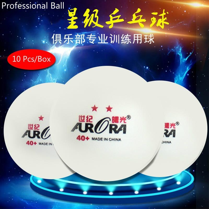 6/10 Pcs Internationalen Tisch Tennis Föderation Zertifizierung ABS 3 oder 2 Sterne Pingpong 40 + Professionelle Spiel Ping-Pong ball