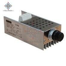 10000 W SCR Spannung Regler Motor Speed Controller Dimmer Thermostat AC 110 V 220 V Mit Kühlkörper