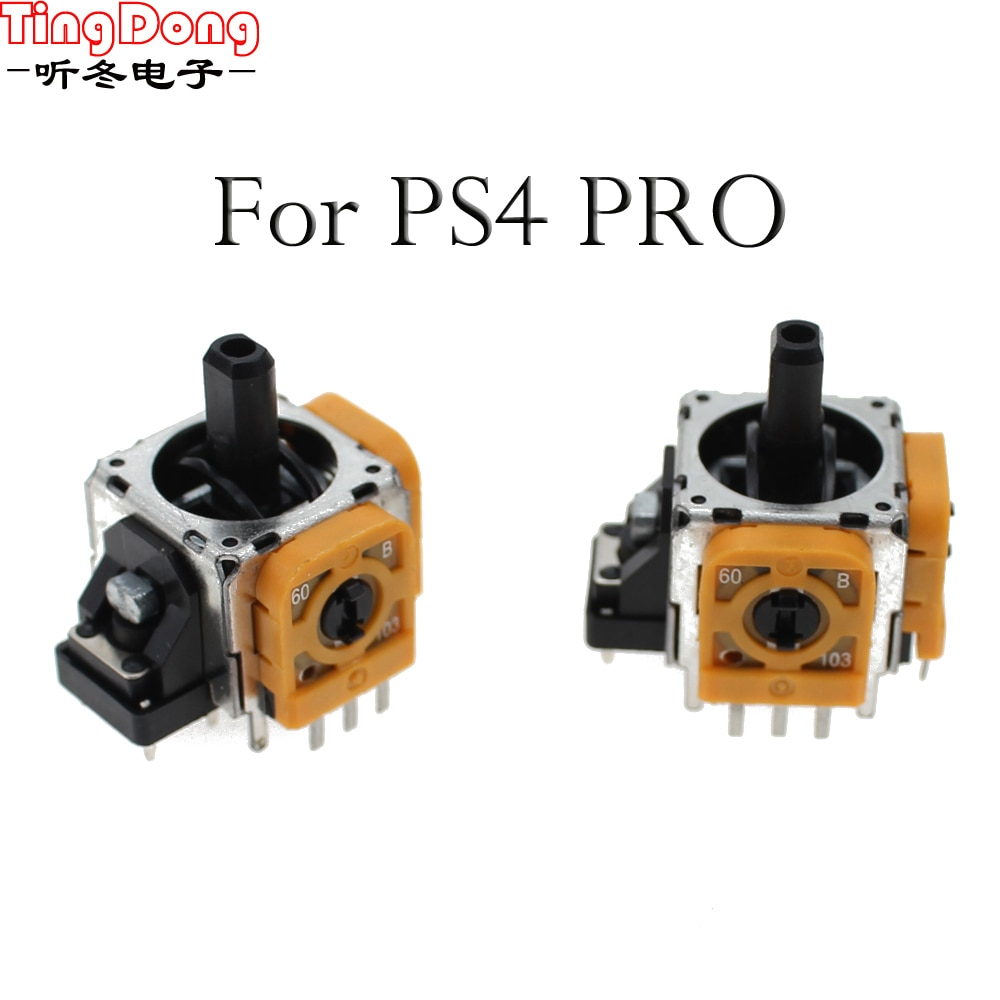 TingDong тонкий контроллер для Sony Dualshock 4 PS4 PRO, 3-контактный 3d Рокер, ось джойстика, аналоговый датчик, ремонтные детали, аксессуары