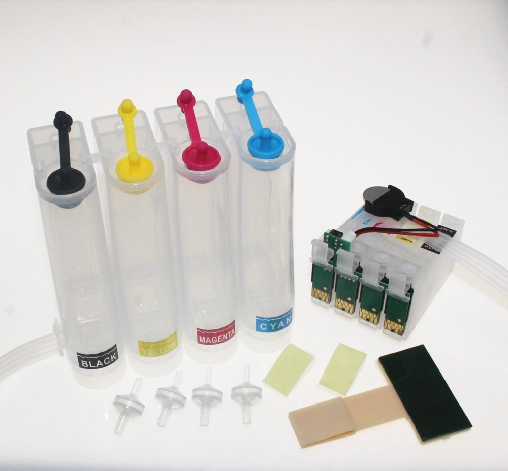 Sistema de suministro continuo de tinta CISS T1631 16XL cartucho de tinta para impresora Epson WorkForce WF-2010 W 2510WF 2520NF 2530WF 2540WF