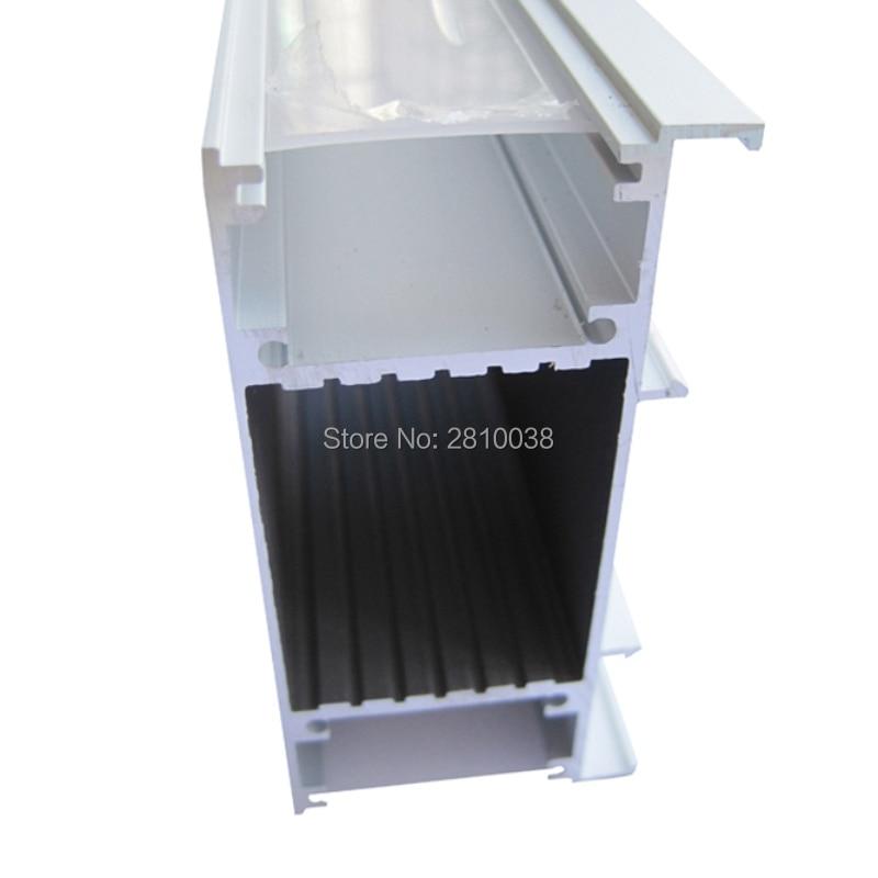 Juego de 3 capas de led anodizado, perfil de aluminio y Canal...