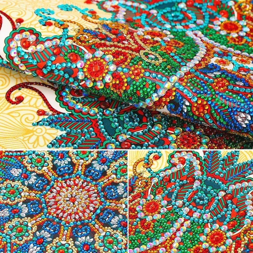 Pintura de diamante AZQSD, bordado de flores, Forma especial, arte de pared, diamante, costura, Diamante de imitación, taladro 5d, mosaico de pintura DIY