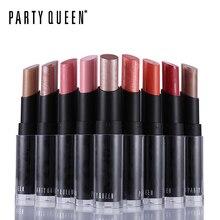 Помада для вечеринки, королевская поп-помада, блестящая, розовое золото, фруктовая, 12 цветов, кремовая, роскошный, яркий цвет, Batom, макияж, долговечная, с рисунком губ