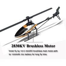 Moteur Brushless RC Hélicoptère V950 2.4G 6CH 3D 6G Système Flybarless professionnel rc hélicoptère RTF électrique rc jouets pour cadeaux