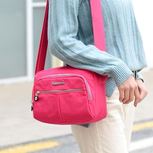 Women Messenger Bags Suitable Shoulder Bag Female Handbag Purse Fashion Waterproof Nylon Crossbody Bag For Ladies