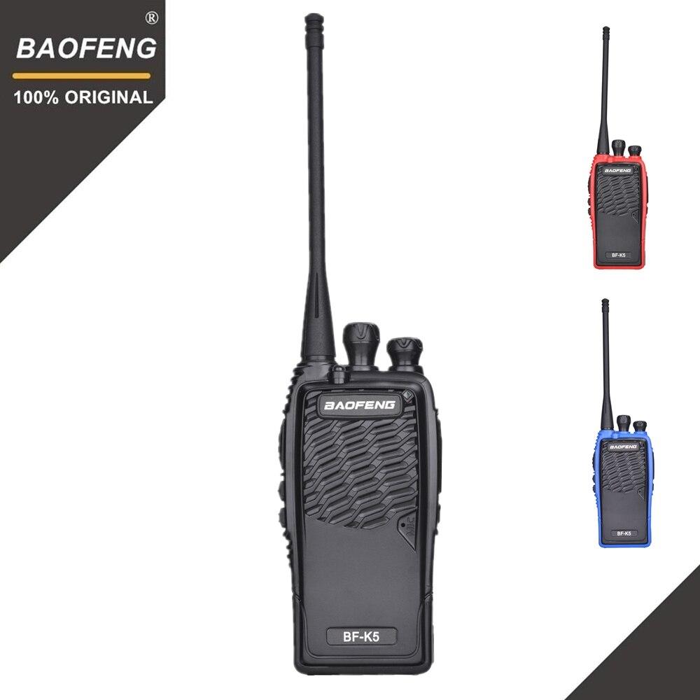100% Original Baofeng Walkie Talkie BF-K5 Amateur Radio Portable Two Way Radio K5 Woki Toki Wireless Fm Hm Transceiver