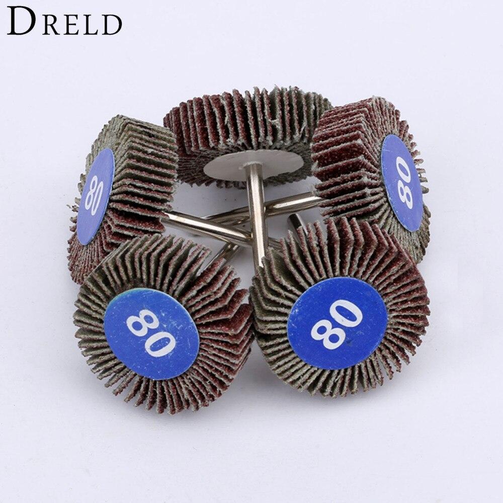5 шт., Аксессуары Dremel, шлифование наждачной бумагой, шлифовальный диск, набор шлифовальных дисков, затвор, полировочное колесо для вращающихся электроинструментов