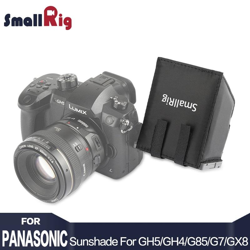 Pantalla LCD de nailon SmallRig parasol para cámaras DSLR y videocámaras para Panasonic Lumix GH5 / GH4 / G85 / G7 / GX8 - 1972