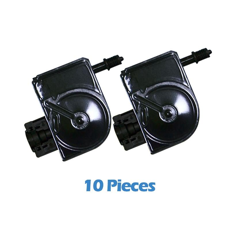 10 шт. для Epson DX5 УФ чернил демпфер для Epson Stylus Proll 4000 4800 7400 7800 9800 9400 9450 плоский принтер УФ-заслонка для чернил