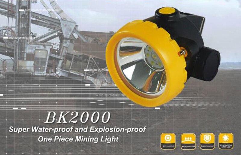 12 PCS/LOT Wireless LED Miner Headlamp Mining Light Miner's Lamp enlarge
