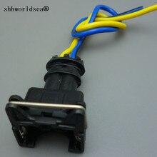 Shhworldsea 1 шт. EV1 282762-1 Автомобильный водонепроницаемый 2-контактный Электрический проводной разъем, автомобильный топливный инжектор, соедини...