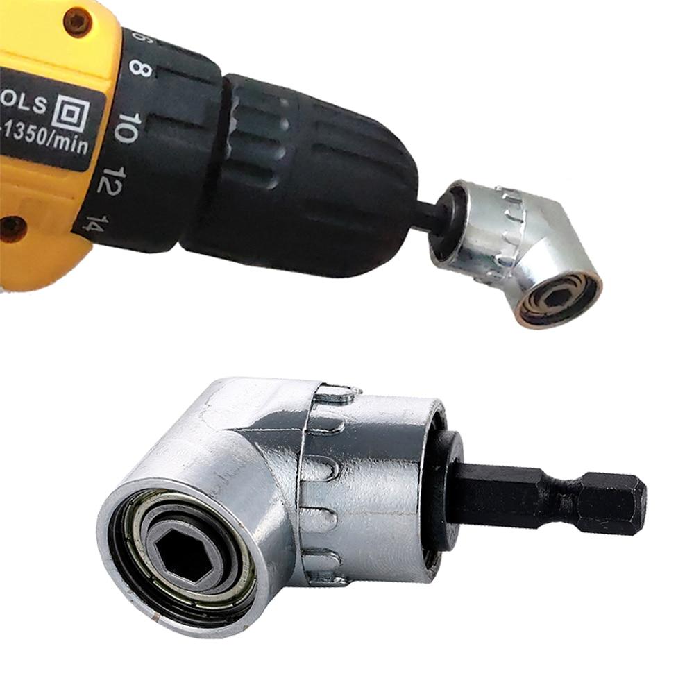 105 Degree Angle Screwdriver Set Socket Holder Adapter Adjustable Bits Drill Bit Angle Screw Driver