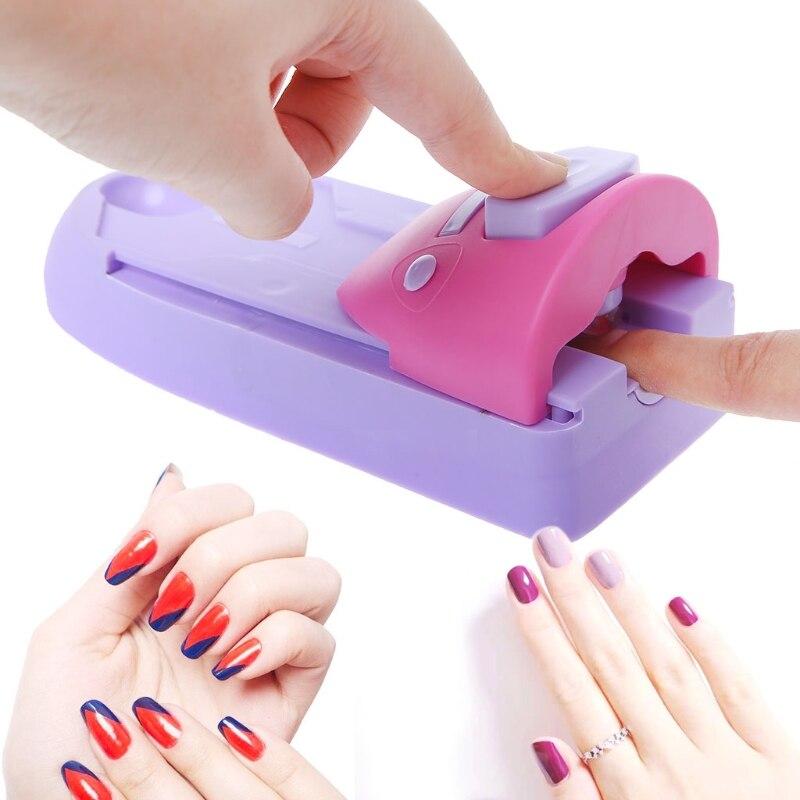 MAANGE imprimante de Nail Art, impression facile, timbre de motifs, Machine de manucure, ensemble doutils de Stamper, équipement de Nail Art
