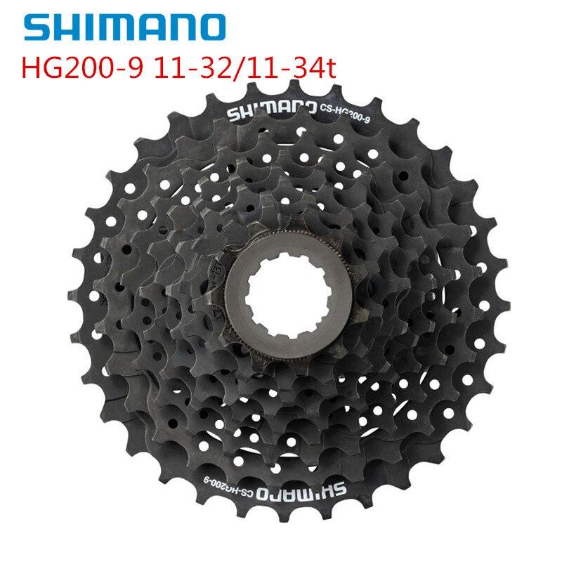 シマノ acera HG200 バイク自転車 mtb hyperglide 9 スピードカセット 11-32t/11-34t