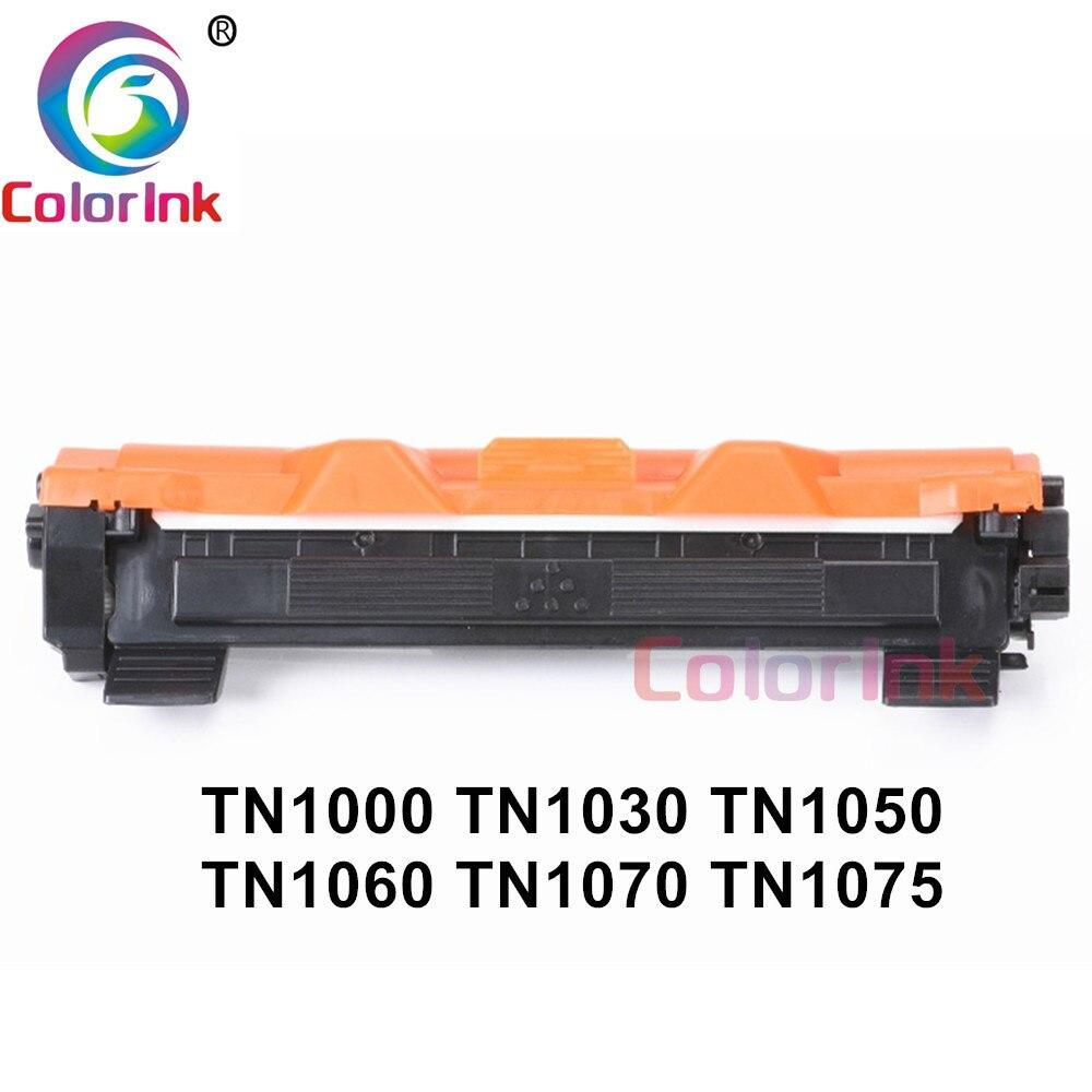 ColorInk 1 paquete Compatible para hermano TN1000 TN1030 TN1050 TN1060 TN1070 TN1075 HL-1110 TN-1050 TN-1075 TN 1075, 1000, 1060, 1070