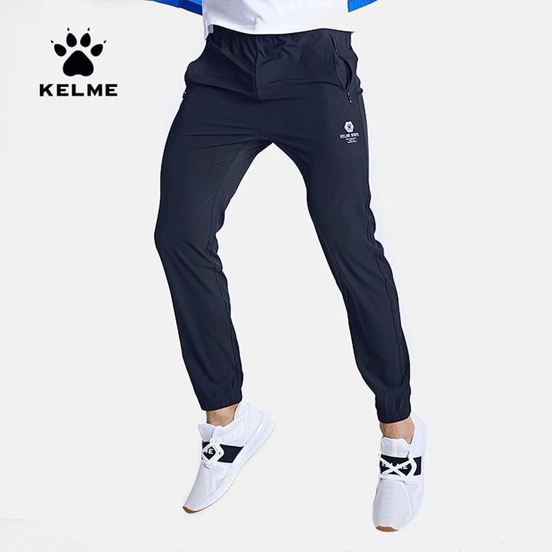 KELME Mens Sweatpants Joggers Summer Quick Drying Breathable Jogging Pants Training Running Sport Trousers Sportwear 3991532