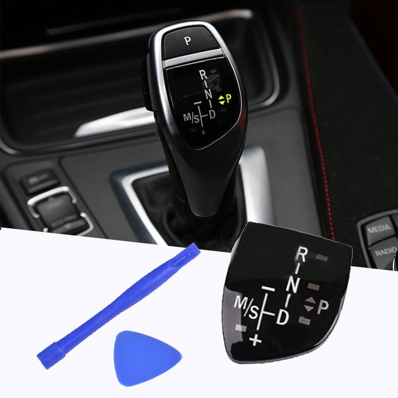 Gear Shift Knob Panel For BMW X1 X3 X5 X6 M3 M5 F01 F10 F30 F35 F18 GT 1 3 5