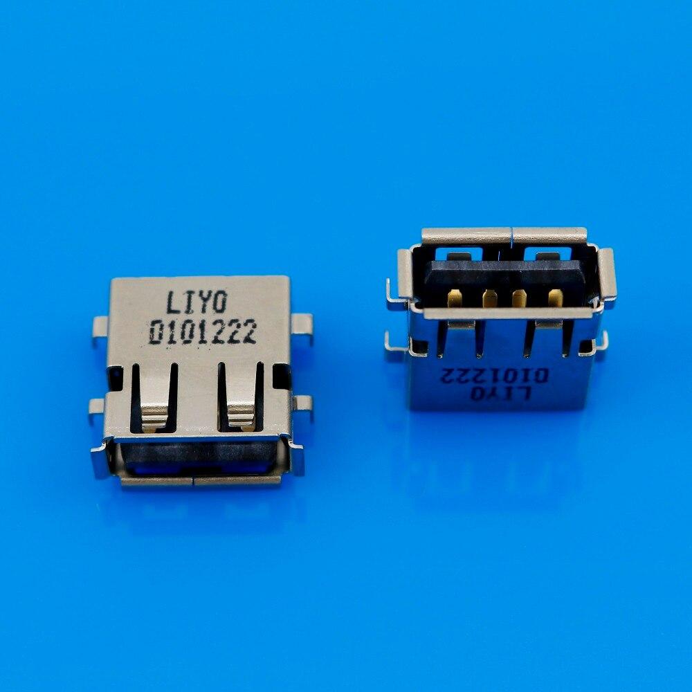 JCD 1 Uds nuevo USB 2,0 conector/conector macho/hembra/clavija para Lenovo G450 G455...
