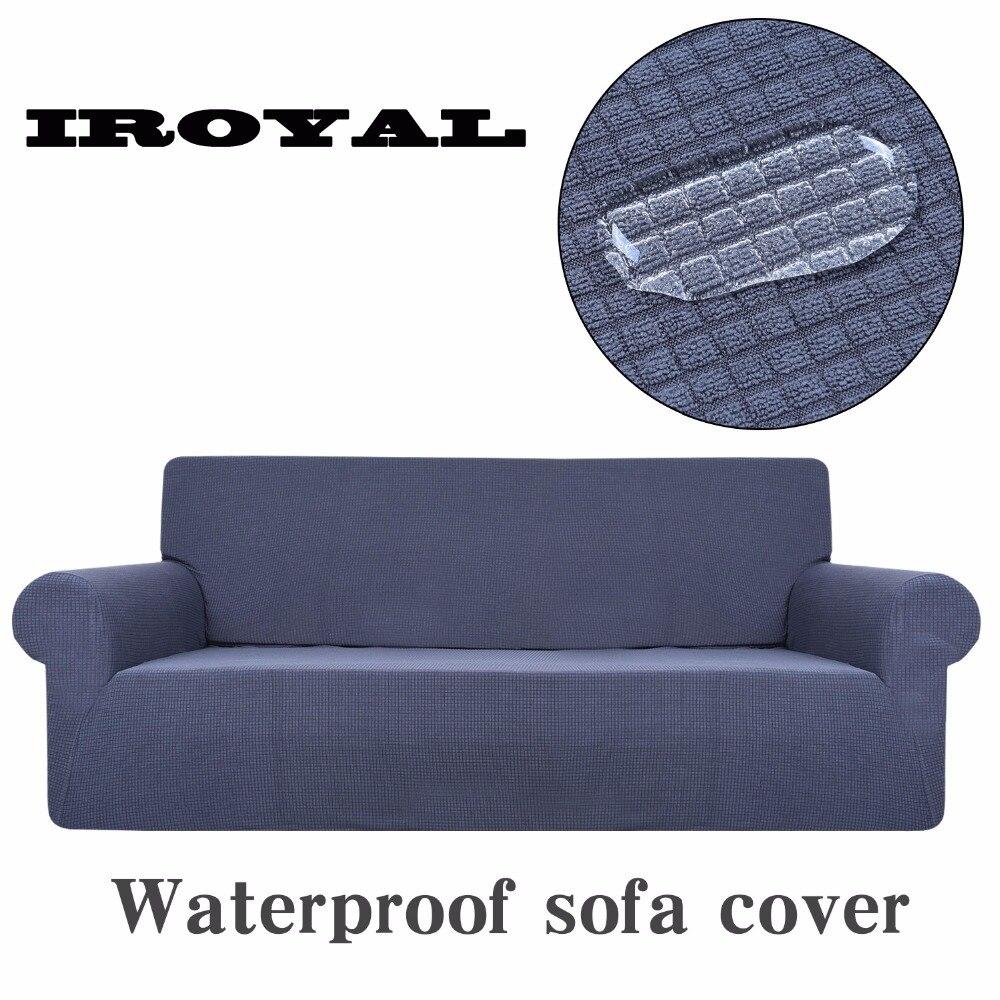 Fundas de punto grueso de tela elástica para sofá para sala de estar medias manta para sofá funda de sofá fundas de sofá universales impermeables