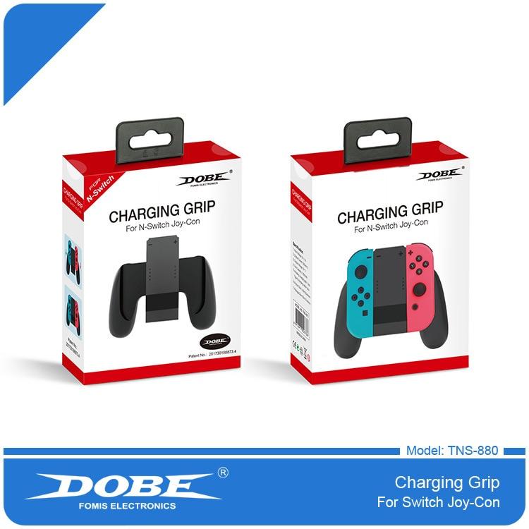 2018 hot Grip Handle Estación De Carga para Nintendo Switch para n-Switch NS Joy-Con Pads controladores de batería