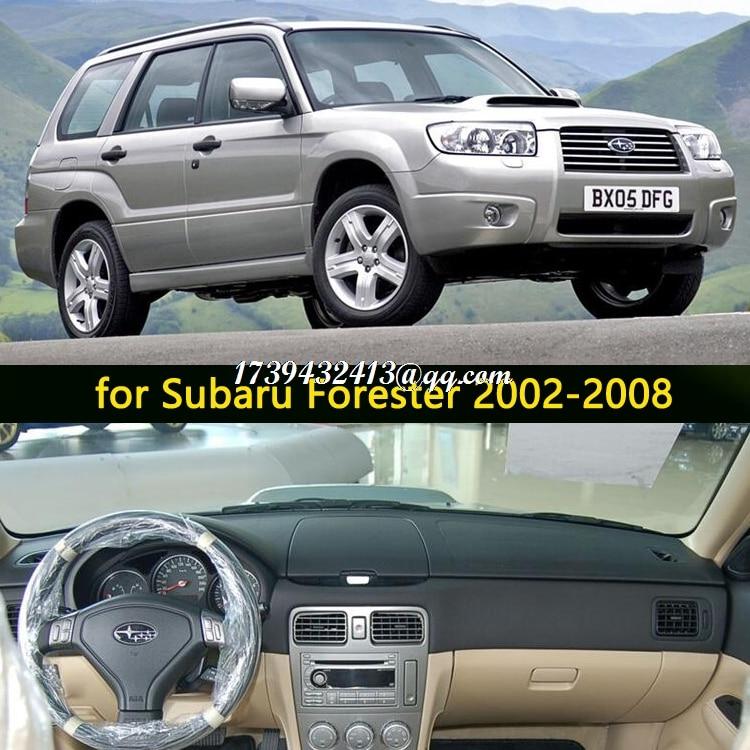 Автомобильные аксессуары для стайлинга приборной панели, чехол для subaru forester sg 2002 2003 2004 2005 2006 2007 2008