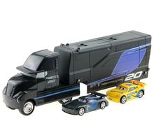Disney Pixar Cars 3pcs/lot Jackson Storm Cruz Ramirez Mack Truck 155 Diecast Metal Alloy And Plastic Modle Car Toys For Kids