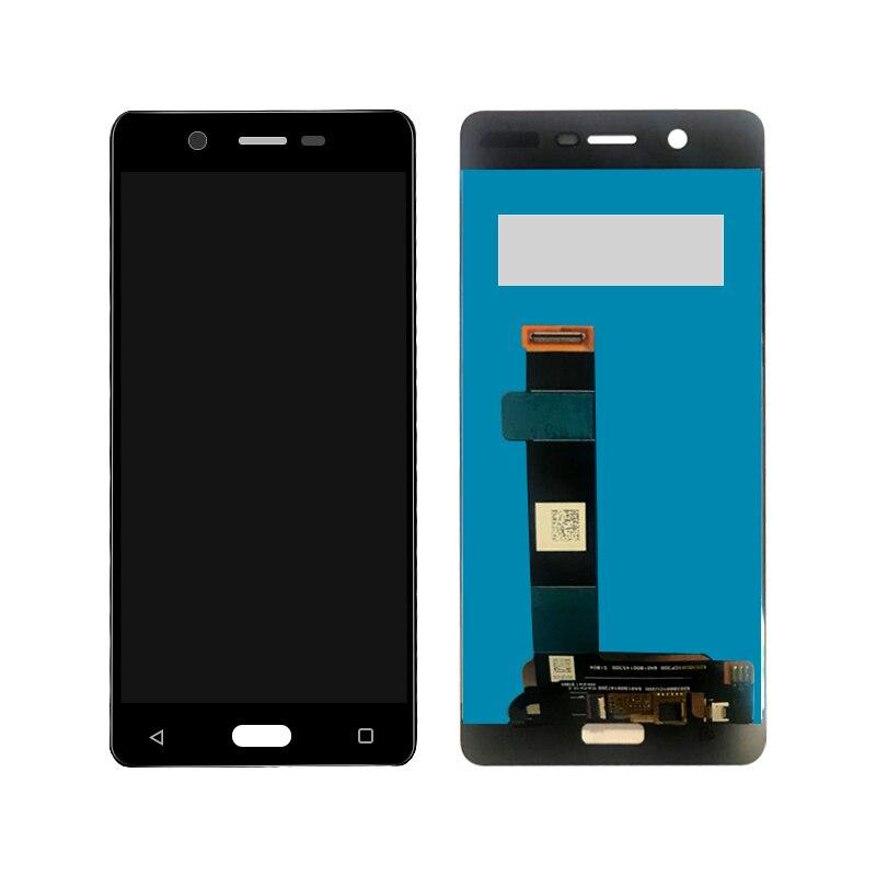 En Stock probado para Nokia 5 lcd N5 TA-1008 TA-1030 TA-1053 pantalla Lcd con piezas de repuesto digitalizador Asamblea de pantalla táctil
