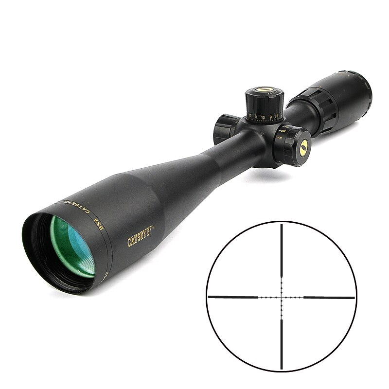 Mira De Rifle BSA 6-24X44 SP Cats Eye mil-dot para caza, para Parallax Riflescope Pistola De Metal Airsoft