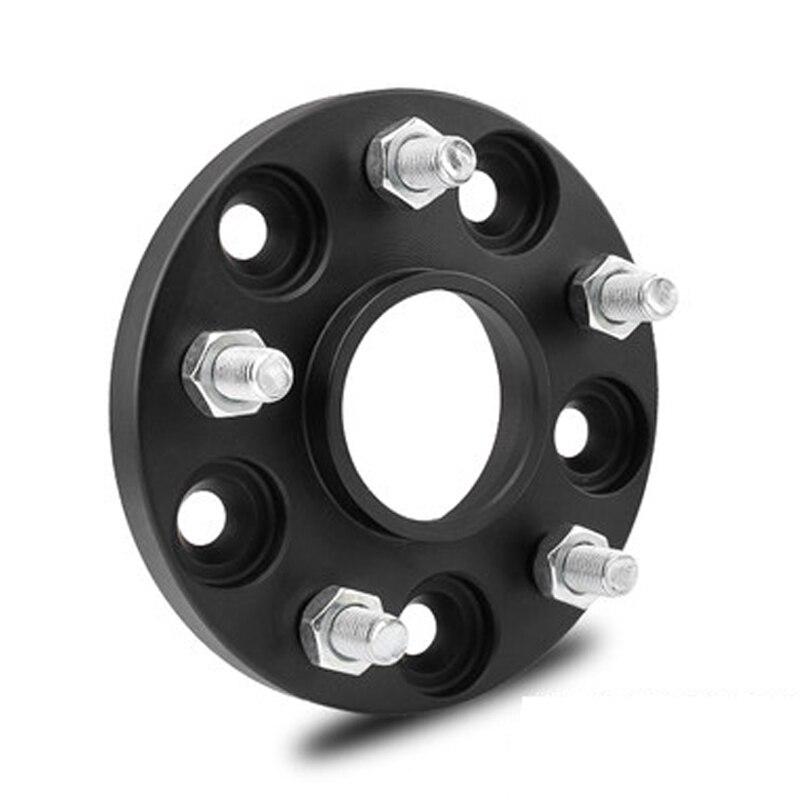 1 шт. PCD 5x115-15 20 25 30 35 мм толстый кованый сплав для автомобильных шин Фланцевое колесо прокладка для Honda Mobilio Brio, Freed, Logo, Capa, CR-X