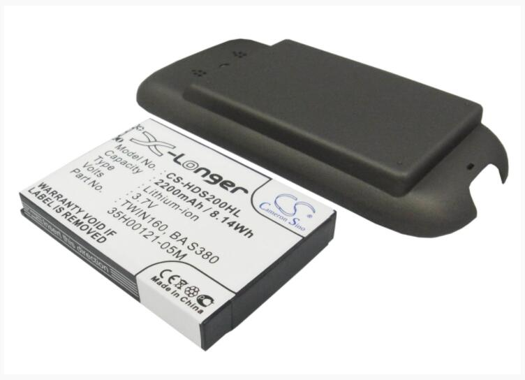 Cameron Sino batería de 2200 mAh para SPRINT héroe 200 35H00121-05M BA S380 TWIN160 PDA PC de bolsillo de la batería