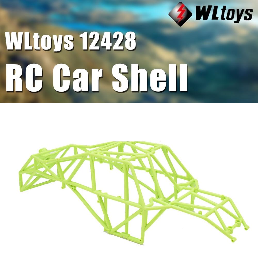 Original Wltoys 12428 marco RC piezas de coche 12428-1047 cuerpo de coche integrado esqueleto accesorios para 12428