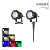 Dimmable LED Spike Spot Light Outdoor Spotlight Landscape Garden Yard Path Lawn Lamps Dimmable 15w 12w Outdoor Grounding Light