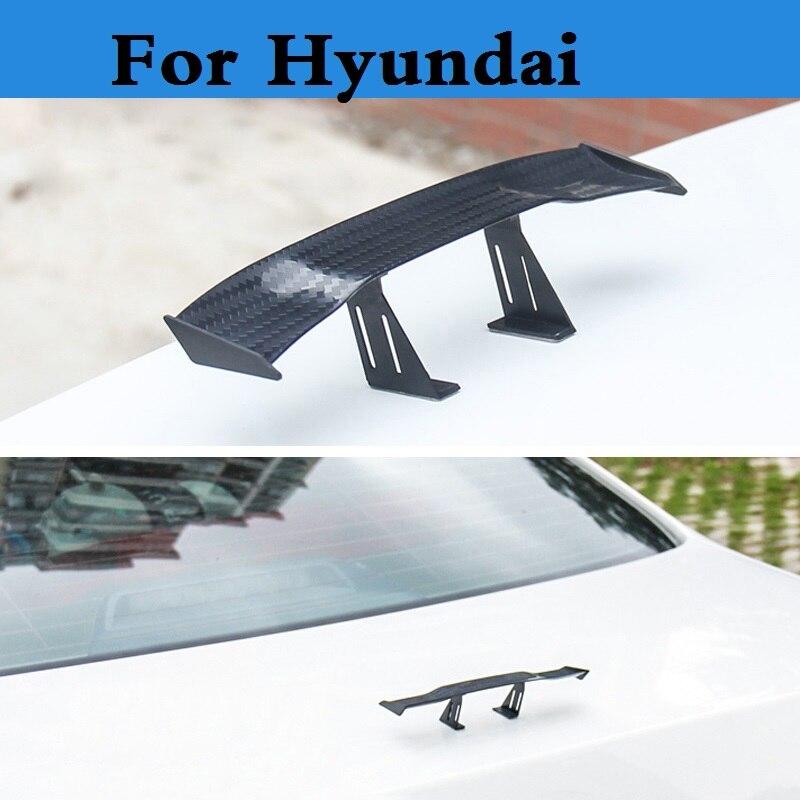 Pegatinas de decoración de ala de coche pequeña, Mini Gt, perforación trasera,...