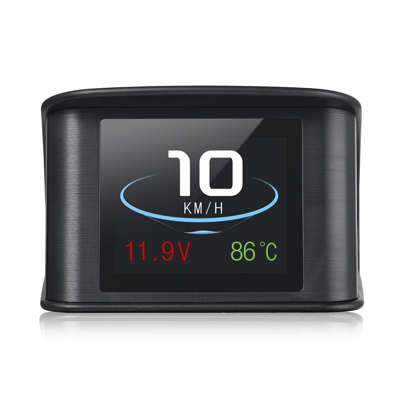 2018 P10 Premium Smart Digital HUD Head Up Display OBD2 Car Speed Projector