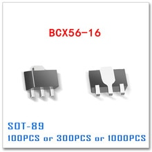 BCX56-16 standard PNP 80V 1A BCX56 100PCS 300PCS 1000PCS SOT89 SOT-89 High Quality