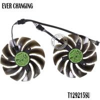 Вентилятор охлаждения T129215SU/PLD09210S12HH для Gigabyte GeForce GTX 1050 Ti RX 480 470 GTX 1060 G1, 88 мм
