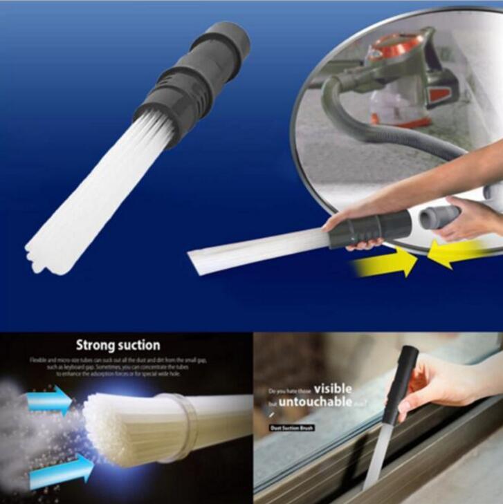 Волшебная метла уборочная многофункциональная щетка для удаления пыли Универсальная насадка для переносного пылесоса инструменты