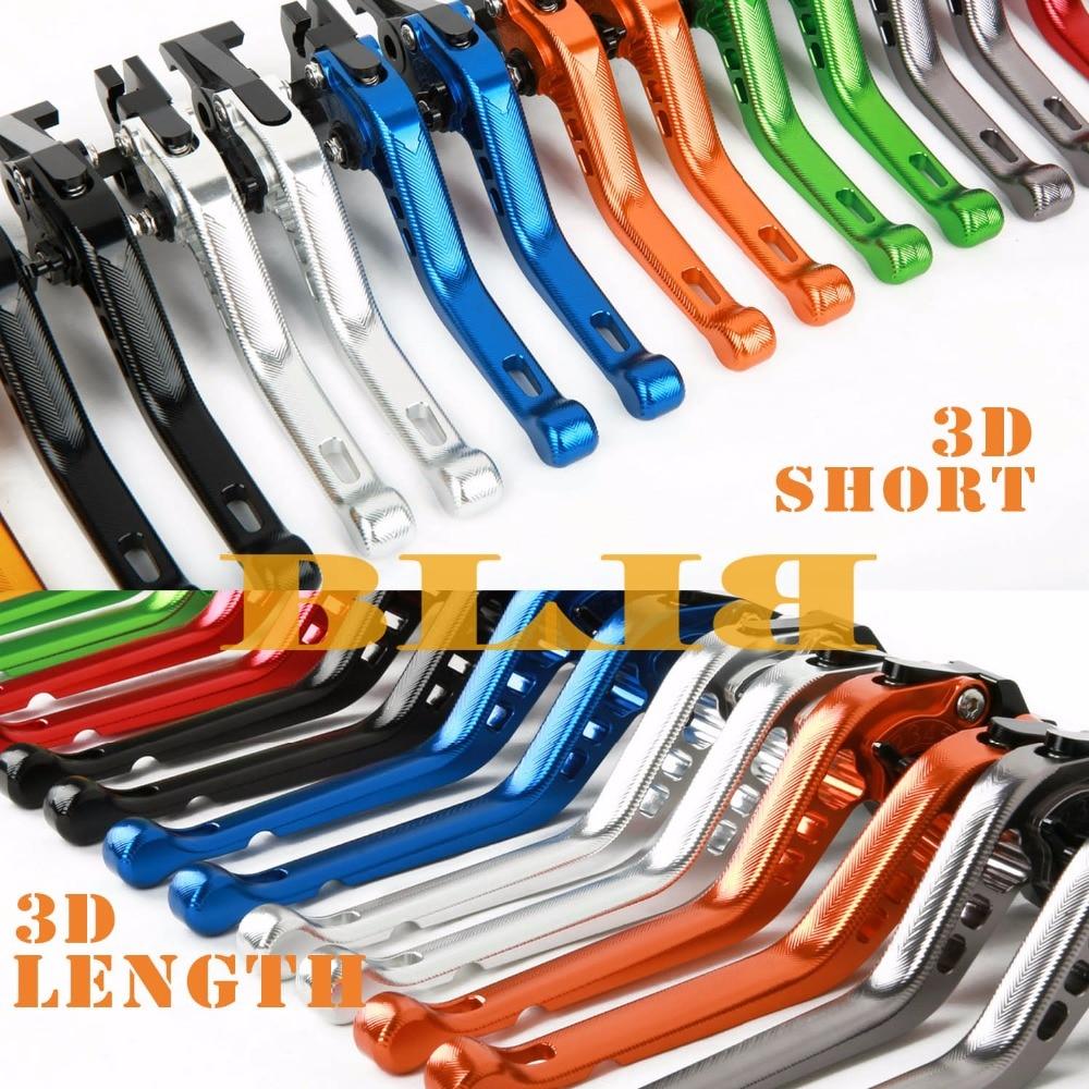 Para Yamaha FJR 1300 2004-2018 SUPERTENERE XT1200ZE 2012-2018 CNC motocicleta 3D palancas de embrague de freno largas/cortas en poco tiempo/más