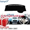 Auto Dashboard Abdeckung Matte für Honda Fit Jazz 2004-2007 Rechtslenker Dashmat Pad Dash Mat Umfasst Dashboard zubehör