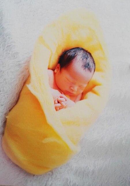 newborn baby blanket 60*60cm Fluffy Wool Felt Fleece Real Pure Wool Basket Filler Stuffer Newborn Photography Props