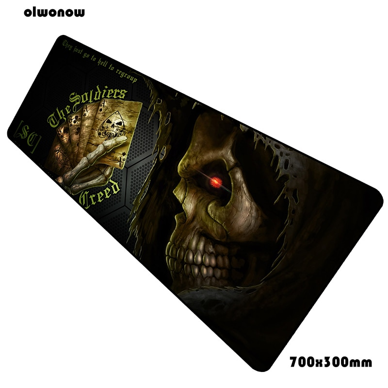 Game Over mouse pad 700x300x3mm Colourful pad mouse notbook computer padmouse Christmas gaming mouse