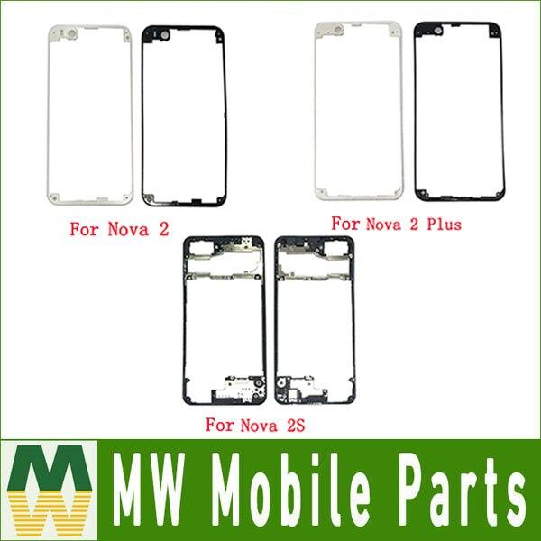 Carcasa frontal para Huawei Nova 2 PIC-L09 Nova 2 Plus BAC-L21 Nova 2s HWI-AL00